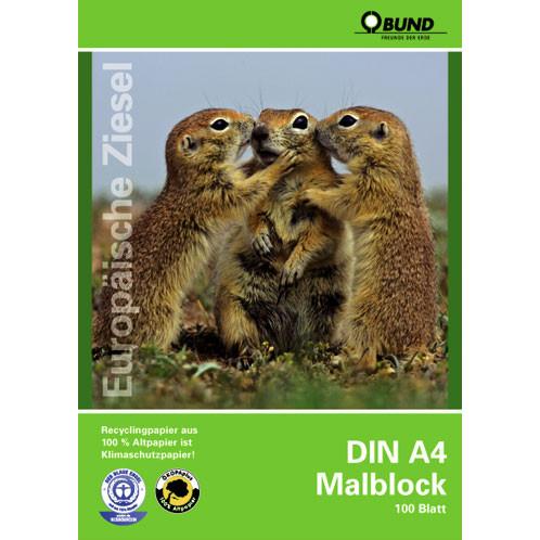BUND-Malblock DIN A4