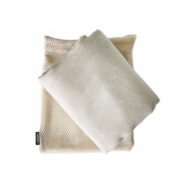 Reisehandtuch aus Bio-Baumwolle