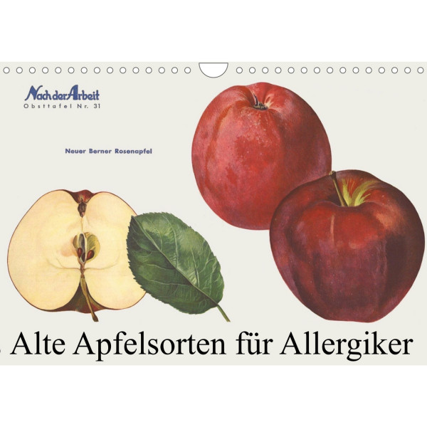 Alte Apfelsorten - Kalender