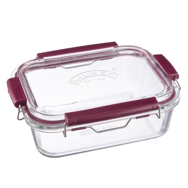Glasbehälter mit Bügeln - 1,4 l