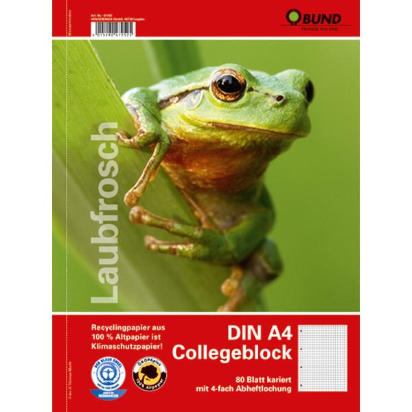 BUND-Collegeblock DIN A4