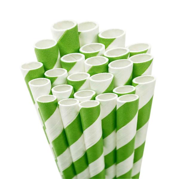 Trinkhalme aus Papier - 20 Stück