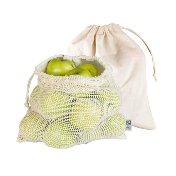 Luftige Obstbeutel - 2 Stück